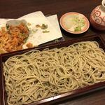 76824224 - 生桜海老かき揚げ天せいろ(1300円)