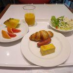 76828846 - 軽く洋食風の朝食にしました
