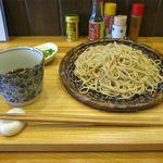 食菜 かま田 - ざるそば(700円)