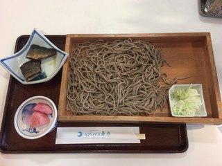 クアハウス碁点 - 鰊 板そば ¥950