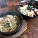はせ川 - 料理写真:石鍋魚醤つけ麺(小)