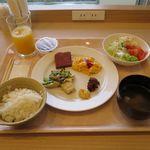 ホテル ライジング サン - 料理写真:いつもと変わらない朝食