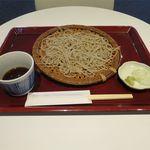 サンゴウアン - せいろ蕎麦(750円)