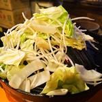 めんよう亭 - 野菜
