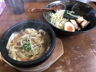 はせ川 - 石鍋魚醤つけ麺(小)