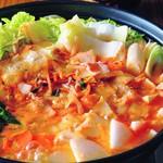 86Haru - キムチ鍋