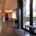 吉野本葛 天極堂 - 一階の喫茶スペース