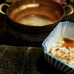 しゃぶ辰 - 雑炊セット
