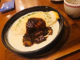 卵と私 池袋サンシャイン店 - チーズインオムライスドリア1050円