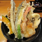 76835207 - 海鮮天丼 1200円