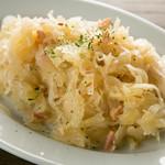 自家製ザワークラウト Homemade Sauerkraut