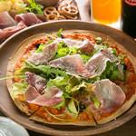 生ハムルッコラピザ Cured Ham & Rucola Pizza