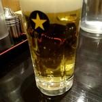 麺屋 武一 - 生ビール