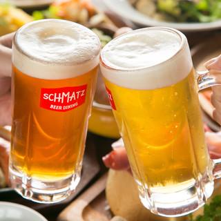 オリジナルクラフトビールが飲み放題コース4000円~