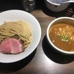 76838912 - 味玉伊勢海老つけ麺(中盛)