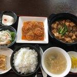 中華キッチン 彩々 - 料理写真:黒豚セレクションのDXランチ・1200円