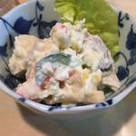 信州 - 料理写真:お通し①ポテトサラダ