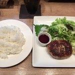 キッチン ラフト - 「自家製ハンバーグおろしポン酢」(980円)
