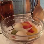 イヌピーピー カレー - 料理写真:ピクルス単品¥150