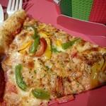 76841850 - 彩り野菜のピッツァ
