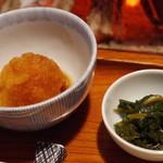 鳥栄 - 料理写真:先付