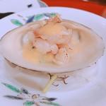 藤緒 - 北寄貝の酢味噌和え