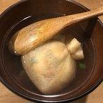 立ち呑みのさのや - 葱袋出汁煮
