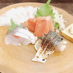 藤緒 - 大目鯛 鯖炙り カジキ 野母鯵