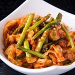 糸島産直野菜の自家製 旨辛キムチ