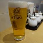 泰平飯店 - 「ヱビス生ビール」