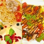 アカリ カフェ - パーティプランは様々なお料理をお楽しみいただけます