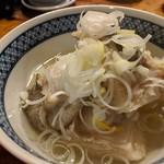天史朗寿司 - アブラボウズ(おしつけ)の塩煮 大根と一緒に