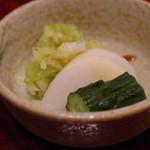 横浜野田岩 - 香の物