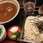 Inakasobamiyuki - ざるそばミニカレー丼セット