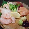 鶏料理・焼きとり 纜 - 料理写真:刺身盛り合わせ