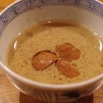 魚菜料理 縄屋 - キノコの茶碗蒸し