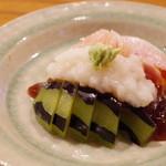 魚菜料理 縄屋 - 鰤とこなれずし、水茄子