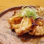 魚菜料理 縄屋 - 白カジキの山椒焼き、天然舞茸