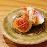 魚菜料理 縄屋 - イチジクの胡麻酢和え