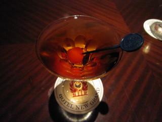 バー・シーガーディアン Ⅱ - カナディアンクラブがベースなので、ソフトな口当たりに仕上がっています。