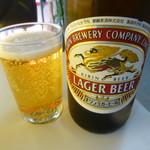 ラーメン大学 都 - 瓶ビール