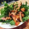 Vin Sereno - 料理写真:魚沼直送!春菊の温製サラダ¥750