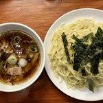 Raamemmanrai - ざるラーメン@¥1,000 麺二玉分のボリューム