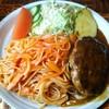 クイーン - 料理写真:2017.2① ハンバーグスパゲティナポリタン¥670