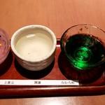 蕎肆 穂乃香 - 純米吟醸飲みくらべ:1,130円
