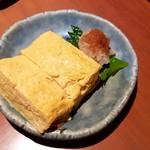 蕎肆 穂乃香 - だし巻き玉子:830円