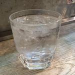長浜屋台 やまちゃん - 芋焼酎の水割り。黒霧かな。