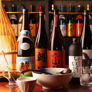 100種以上の飲み放題メニュー(生ビール付)