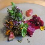 ナイン ストーリーズ - 秋刀魚と焼き茄子のタルト 林檎と生姜のジャム2