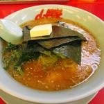 ラーメン山岡家 - 味噌ラーメン640円+バタートッピング60円